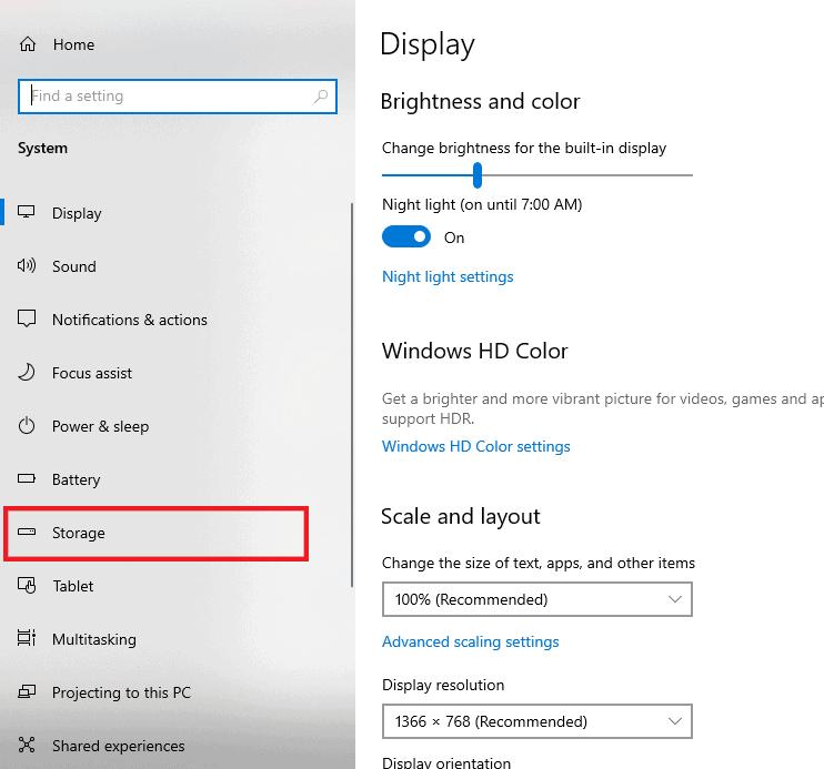 Click Storage