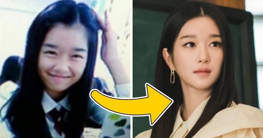 Seo Yea-ji in School